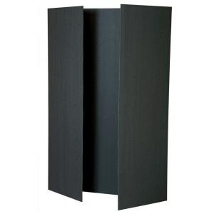 "Pacon® Black Foam Presentation Boards: Black/Gray, 12 Piece, 36"" x 48"", Foam Board, (model PAC3862), price per 12 Piece box"