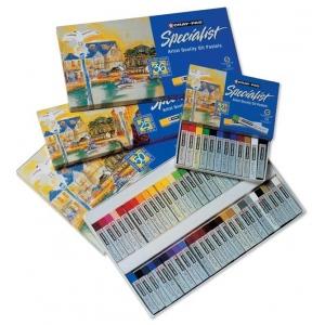 Cray-Pas® Specialist® Oil Pastel 50-Color Set; Color: Multi; Format: Stick; Type: Oil; (model ESP50), price per pack