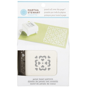 Martha Stewart Crafts™ Pattern Punch All Over The Page™ Magnetic Punch Petal Heart: Pattern, (model 42-91010), price per each