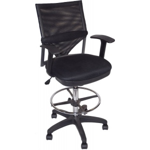 Martin Comfort Mesh Drafting High Chair: Model # 91-02406115