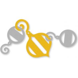 EK Success Garland Punch Ornament: Pattern, Shape, (model 54-91005), price per each