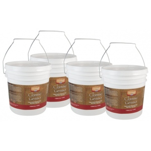 Heritage Premium Gesso: Medium, Gallon, Box of 4