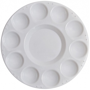 Richeson 10-Well Round Tray with Cover