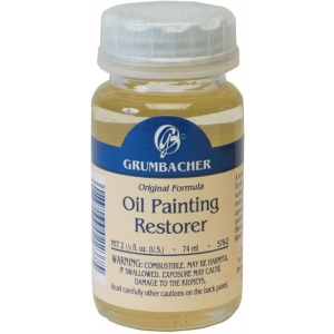 Grumbacher® Oil Paint Restorer: Bottle, 2.5 oz, Oil, (model GB5782), price per each