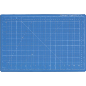 "Dahle Vantage Self Healing Cutting Mat: Blue, 9"" x 12"" Cut Size"