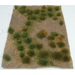 """Wee Scapes™ Architectural Model Wild Grass Green Meadow Sheet: Green, Sheet, 4 7/8"""" x 6"""", Meadow, (model WS00315), price per each"""