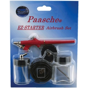 Paasche EZ-Starter Single Action Airbrush Kit