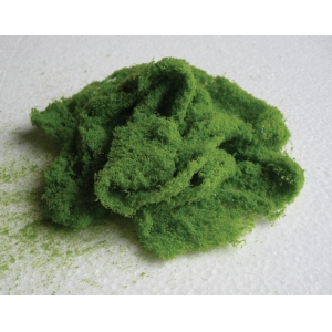 Wee Scapes™ Architectural Model Fine Light Green Foliage Cluster; Color: Green; Coverage: 150 sq in; Material: Poly Fiber, Turf; Type: Foliage; (model WS00339), price per each