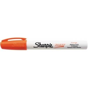 Sharpie® Oil Paint Marker Medium Orange; Color: Orange; Ink Type: Paint; Tip Type: Medium Nib; (model SN35557), price per each
