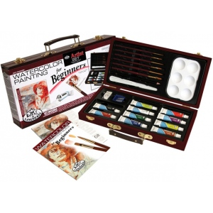 Royal & Langnickel® Watercolor Painting for Beginners Set; Color: Multi; Type: Watercolor; (model RSET-WAT3000), price per set