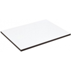 "Alvin® XB Series Drawing Board / Tabletop 15"" x 20"" ; Top Color: White/Ivory; Top Material: Melamine; Top Size: 15"" x 20""; (model XB110), price per each"