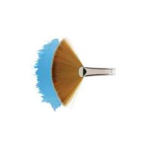 Winsor & Newton™ Cotman™ Series 888 Fan Short Handle Brush #6: Short Handle, Synthetic, Fan, Watercolor, (model WN5388006), price per each