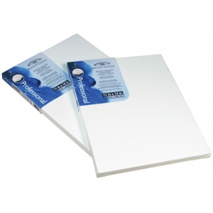 "Winsor & Newton™ Artists' Stretched Canvas Cotton 5"" x 5"" : 5"" x 5"", 13/16"", Stretched, (model 6005097), price per each"