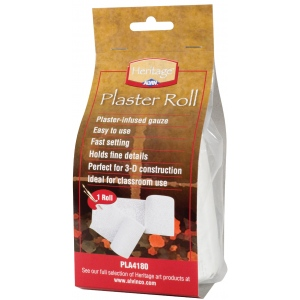 "Heritage Arts™ Plaster Roll 4"" x 180""; Type: Plaster; (model PLA4180), price per roll"