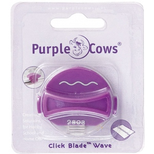 Purple Cows® Short Wave Designer Click Blade; Replacement Part: Yes; Type: Handheld Trimmer; (model PPC1044), price per each