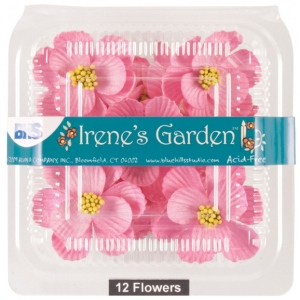 """Pink; Color: Red/Pink; Material: Paper; Size: 1 1/4"""" - 1 1/2""""; Type: Dimensional; (model BHS107531), price per box"""