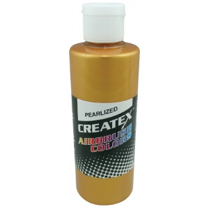 Createx™ Airbrush Paint 4oz Pearlescent Copper; Color: Metallic; Format: Bottle; Size: 4 oz; Type: Airbrush; (model 5306-04), price per each