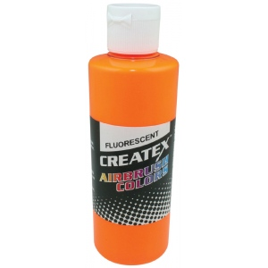Createx™ Airbrush Paint 4oz Fluorescent Sunburst: Yellow, Bottle, 4 oz, Airbrush, (model 5410-04), price per each