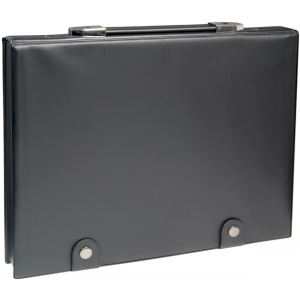"Prestige™ The Crusher Presentation Case 8.5"" x 11"": Black/Gray, Vinyl, 8 1/2"" x 11"", (model PCH811), price per each"