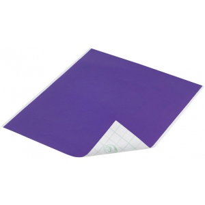 """Duck Tape® Purple Tape (Sheet): Purple, Sheet, 8 1/4"""" x 10"""", Color, (model DT280083), price per sheet"""