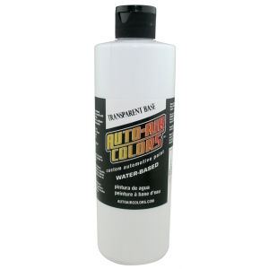 Auto-Air Colors™ Transparent Base 16oz; Format: Bottle; Size: 16 oz; Type: Airbrush; (model 4004-16), price per each