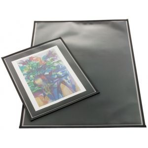 "Prestige™ Archival Print Protector 22"" x 30"": Black/Gray, Polypropylene, 22"" x 30"", (model AA2230-6), price per pack"
