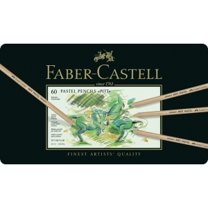 Faber-Castell PITT Pastel Pencil: Tin of 60