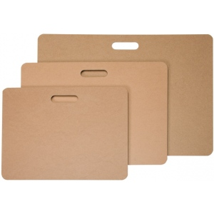 "Heritage Arts™ Masonite Drawing Board 23"" x 31""; Color: Brown; Size: 23"" x 31""; Top Material: Masonite; Type: Drawing Board; (model SPM23), price per each"