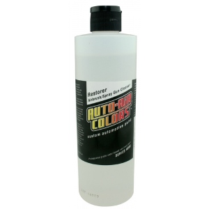 Auto-Air Colors™ Restorer 16oz; Format: Bottle; Size: 16 oz; Type: Airbrush; (model 4008-16), price per each