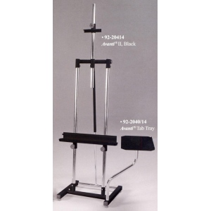 Avanti II Metal Double Post Easel: Model # 92-20414, Black