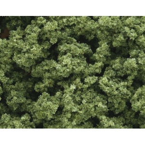 Woodland Scenics® Clump Foliage; Color: Green; Coverage: 55 cu in; Type: Foliage; (model FC682), price per each