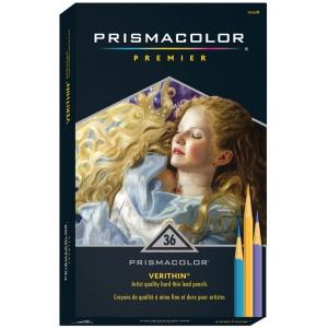 Prismacolor® Verithin® Premier Pencil 36-Color Set; Color: Multi; (model E732), price per set
