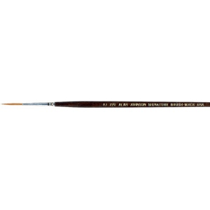 Mack Alan Johnson Signature Brush: Size 2/0