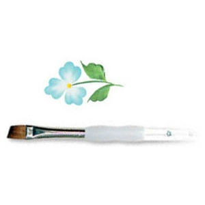 Royal & Langnickel® Soft Grip™ Sable Angular Brush 3/8; Material: Sable; Shape: Angular; Size: 3/8; Type: Acrylic, Oil, Watercolor; (model RSG1160-3/8), price per each