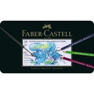 Faber-Castell Albrecht Durer Artists' Watercolour Pencil: Tin of 120