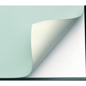 "Alvin® VYCO Green/Cream Board Cover 48"" x 10yd; Color: Green, White/Ivory; Format: Roll; Material: Vinyl; Size: 48"" x 10 yd; (model VBC44/48), price per roll"