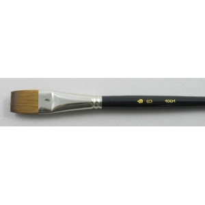 Kolinsky Sable Short Handle Bright Brush # 6 (Made in Russia)