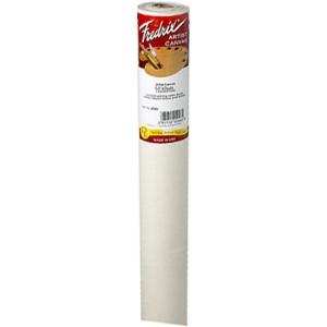 "Fredrix Acrylic Primed Cotton Canvas Roll: Tara 70/580 Universal, 30 yds. x 53"", 10 1/2 oz."