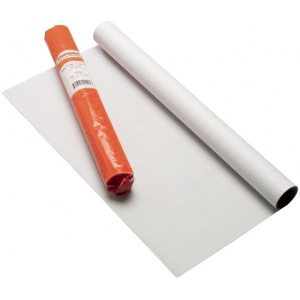 "Clearprint® 1000H Series 30 x 50yd Vellum Roll 8x8 Grid: Roll, 8"" x 8"", 30"" x 50 yd, 16 lb, (model CP10102140), price per roll"