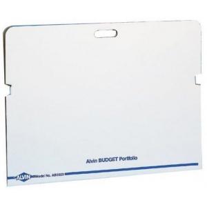 """Alvin® Budget Portfolio 24"""" x 36""""; Color: White/Ivory; Material: Fiberboard; Size: 26 3/4"""" x 38 1/2""""; (model AB3021), price per box"""