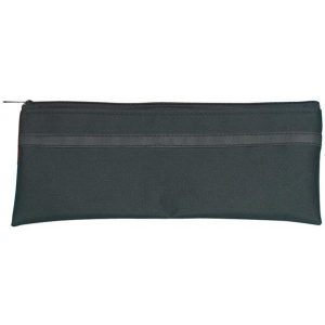 """Alvin® Black Nylon Utility Bag 5"""" x 10""""; Color: Black/Gray; Material: Nylon; Size: 5"""" x 10""""; (model N510), price per each"""