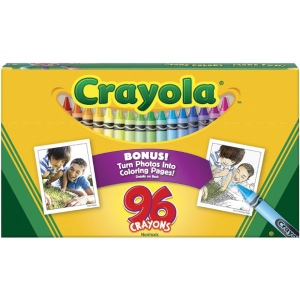 Crayola® Original Crayons 96-Color: Multi, (model 52-0096), price per pack
