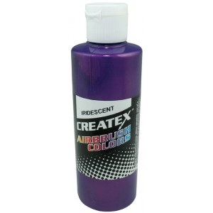 Createx™ Airbrush Paint 2oz Iridescent Violet: Purple, Bottle, 2 oz, Airbrush, (model 5506-02), price per each