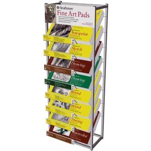 Strathmore® Fine Art Pad Display Rack: Rack, (model ST79-24D), price per each
