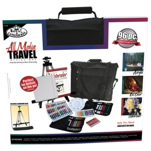 Royal & Langnickel® All Media Travel Artist Set; Color: Multi; Type: Acrylic, Oil, Watercolor; (model FA-202), price per set