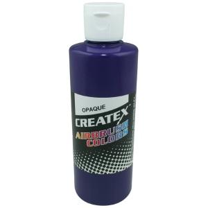 Createx™ Airbrush Paint 4oz Opaque Purple; Color: Purple; Format: Bottle; Size: 4 oz; Type: Airbrush; (model 5202-04), price per each