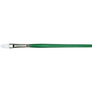 Princeton™ Better Synthetic Bristle Oil and Acrylic Brush Filbert 6: Better, Long Handle, Synthetic Bristle, Filbert, Acrylic, Oil, (model 6100FB-6), price per each