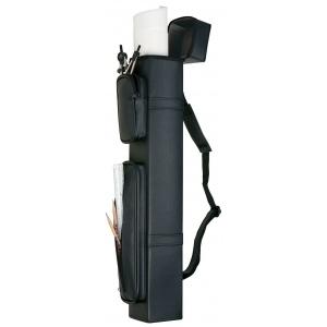 "Alvin® ; Color: Black/Gray; Material: Leather; Size: 4"" x 26""; (model MK26), price per each"