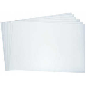 "Grafix® 18"" x 24"" Double Tack Mounting Film; Color: Clear; Shape: Sheet; Sheet Size: 18"" x 24""; (model SDT1824), price per pack"
