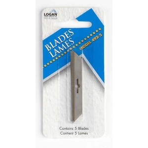 Logan 492-5 Blades: Fits 1500, Pack of 5, 6 Packs